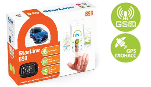 StarLine B96 2CAN+2LIN GSM GPS